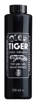 B&E;  Tiger Leder-Schwärze - 250ml