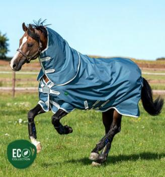 Horseware; AmECO  Bravo 12 Plus Turnout 0g - teal