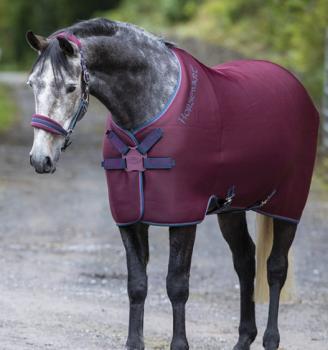 Horseware; RAMBO Airmax Cooler Disc Front - burgundy