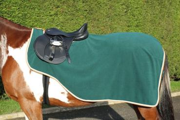 Shires; Tempest Original Fleece Exercise Sheet - green