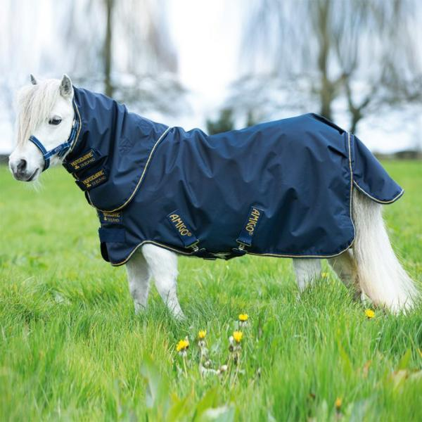 Horseware; AMIGO Hero 6 Petite Plus Turnout Lite - navy